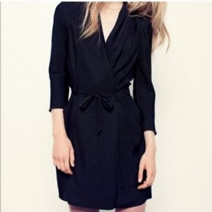 Aritzia Wilfred Franca Wrap Dress (no strap)